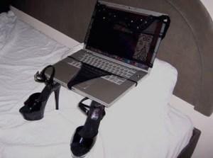 laptop lingerie