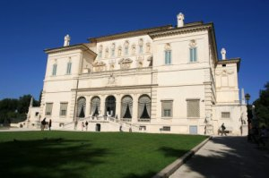 The Villa at the Borghese Gallery